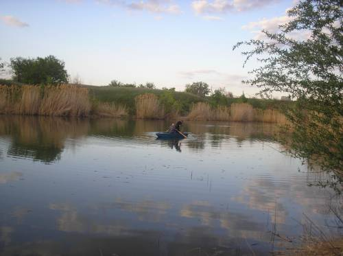 рыбалка на учхозе